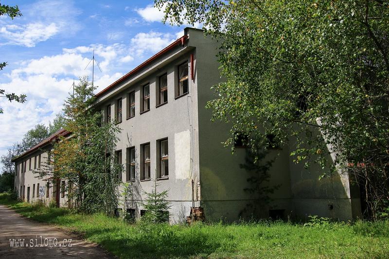 Opuštěné budovy PS v Cetvinách