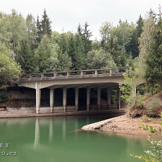 Unfinished highway bridges