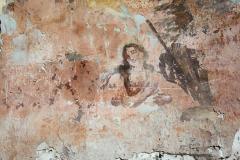 Malby v ruinách kostela svatého Havla