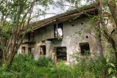 Opuštěné budovy v Cetvinách