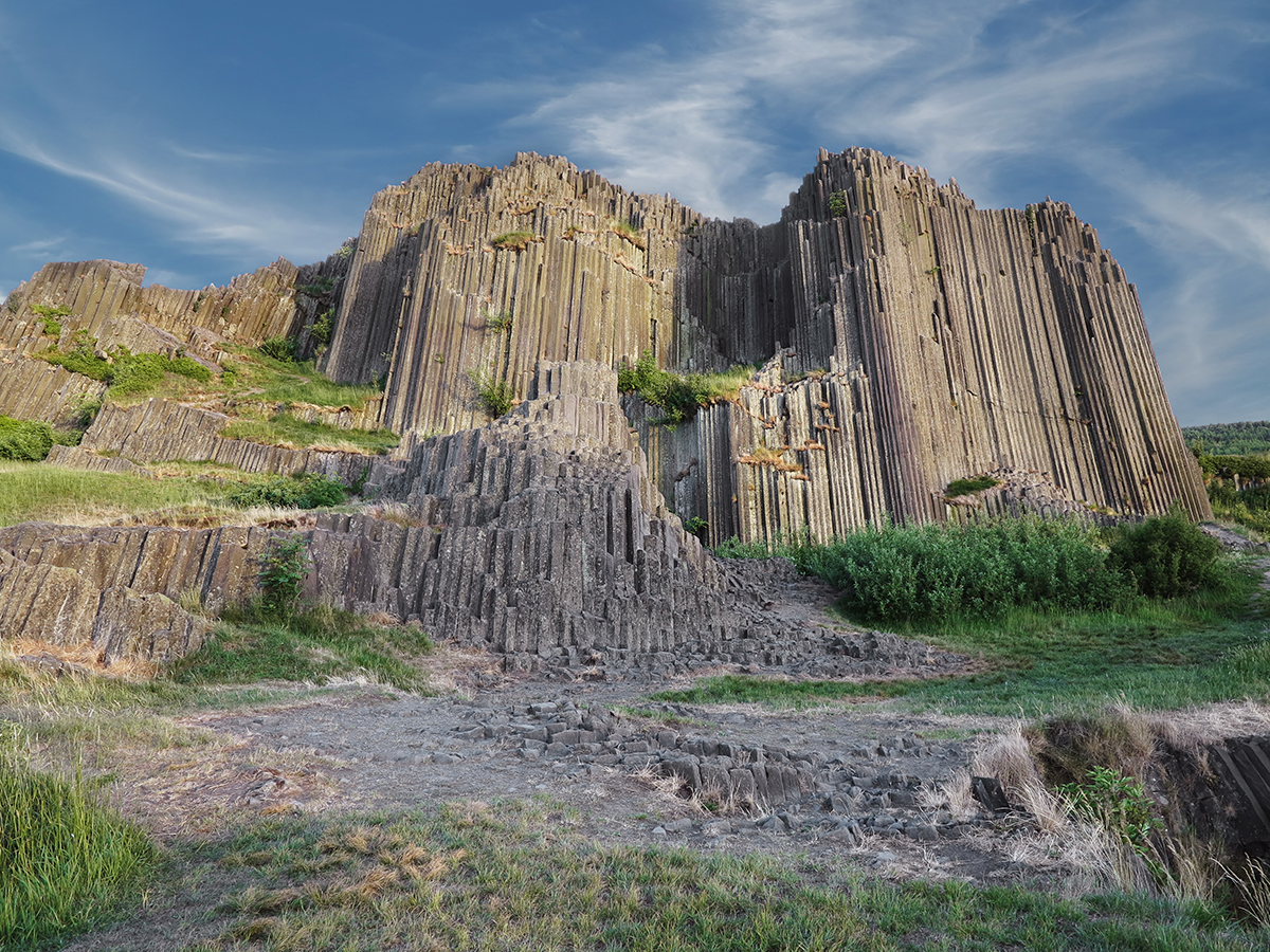 Nature Monument Panska skala rock