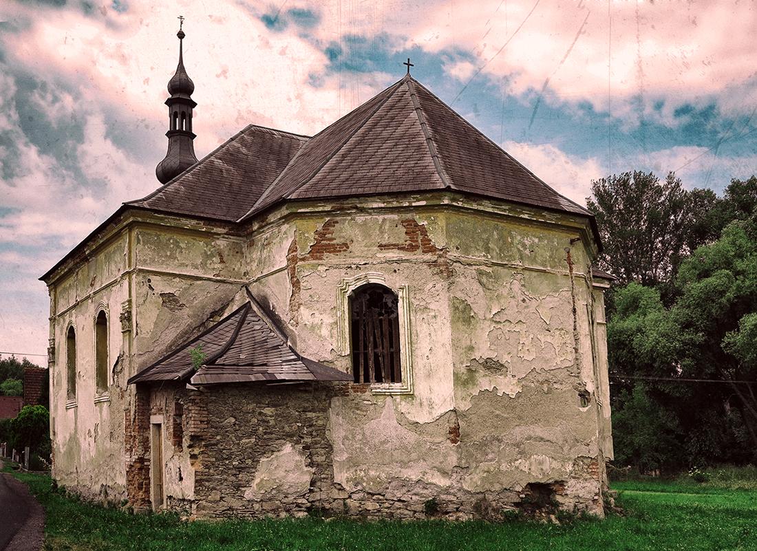 Barokní kostel svatého Jana Křtitele z roku 1766, Srby