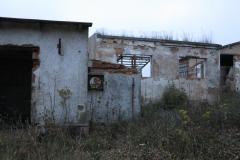 Ruiny v obci Poutnov