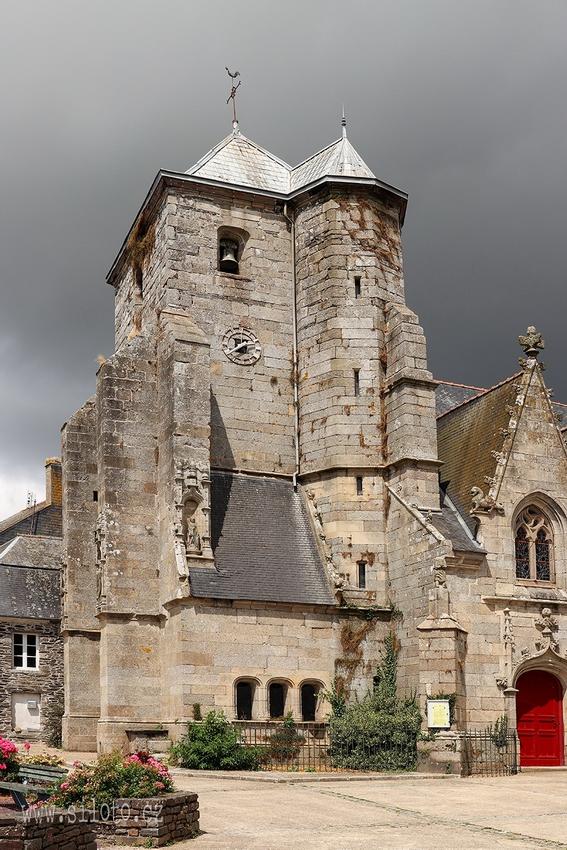 Église Saint-Sauveur, Corlay