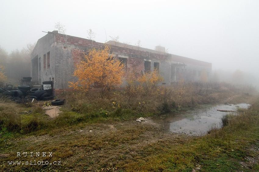 Smrkovec – ruiny raketové základny