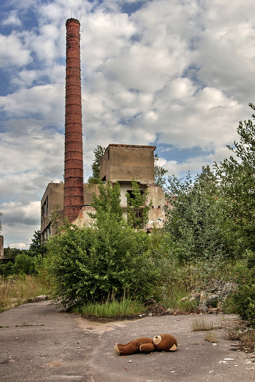Ruiny šamotky ve Vidnavě