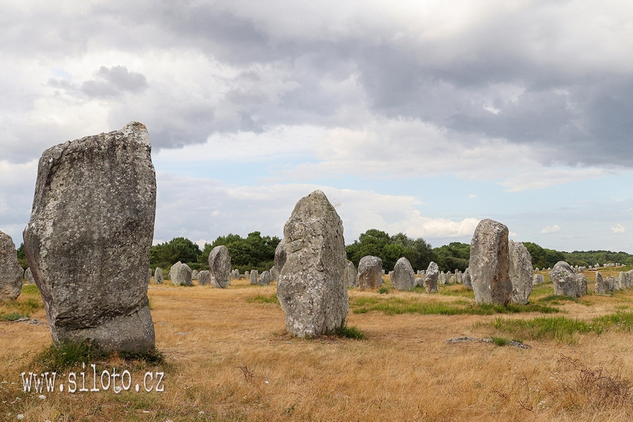 Menhirs and dolmens of Brittany: Carnac