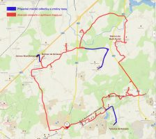 Carnac - okruh - mapa