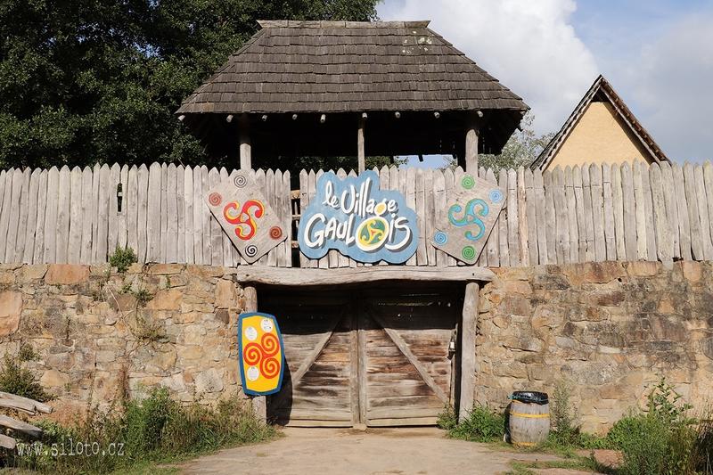 Galská vesnička
