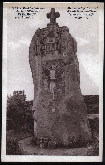 https://commons.wikimedia.org/wiki/File:St_Uzek_-_Christianised_menhir.jpg
