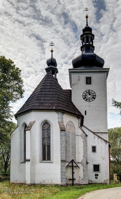 Kostel Narození Panny Marie, Cetviny